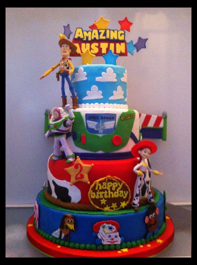 Birthday cake toy story kids toy story birthday party