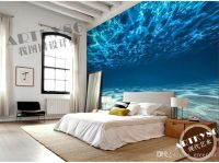 Charming Deep sea Photo Wallpaper Custom Ocean Scenery ...