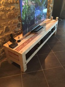 Pallet Tv Console Media Stand 1001 Pallets