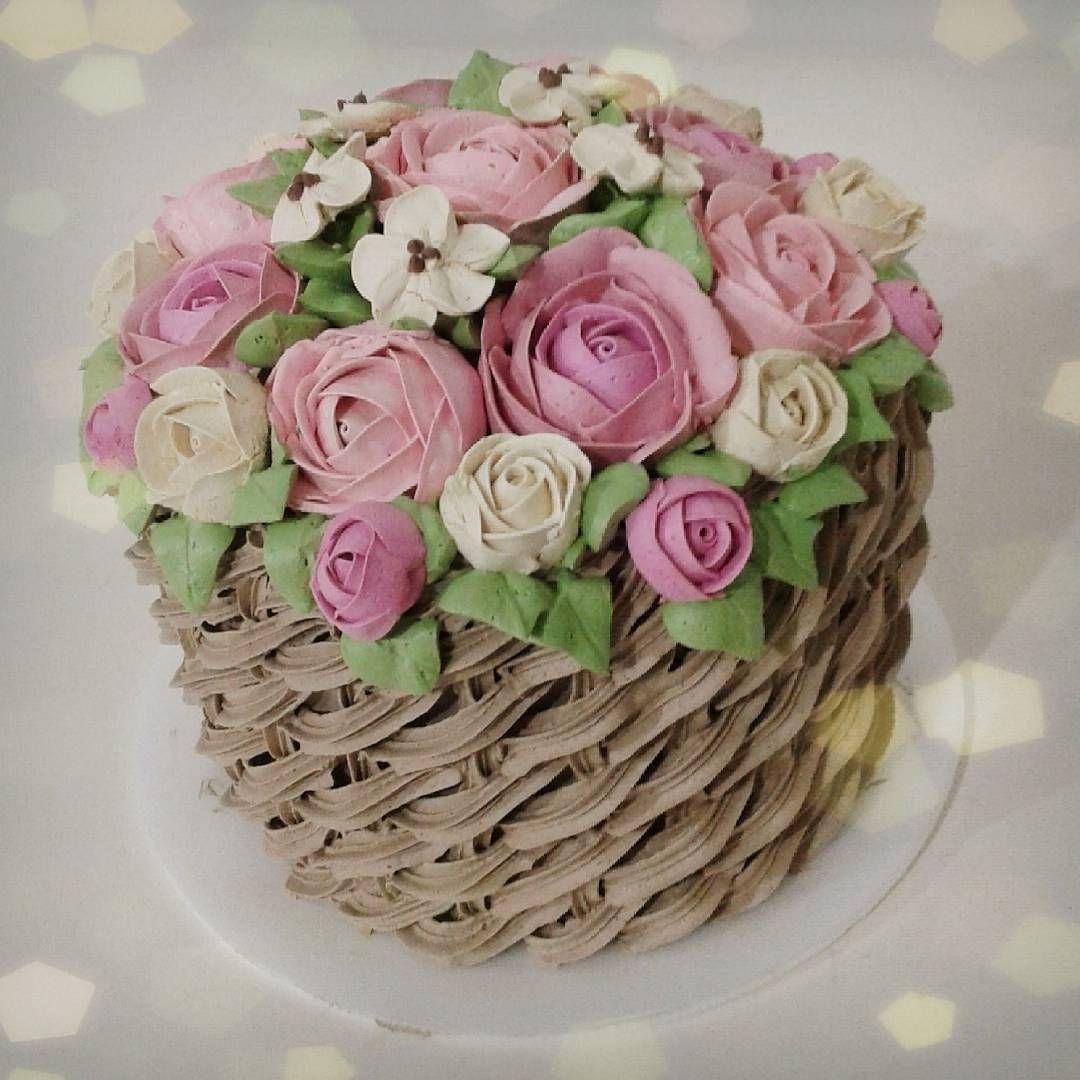 Cool Basket Weave Cake