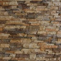 Interior Stone Walls | ... of faux stacked stone wall ...