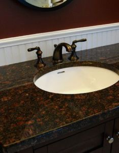 Elegant vintage bathroom with no decoration oval sink design ideas applied on vanity brown top in  also rh pinterest