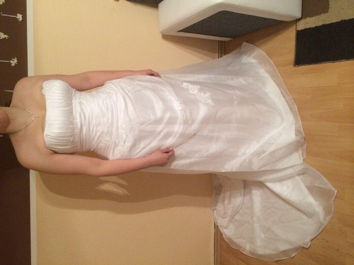 ♥ Brautkleid Hochzeitskleid Boutique Lilly Berlin Größe 44
