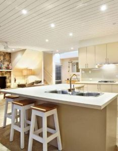 Split level beach home in back also interiors room kitchen and rh pinterest