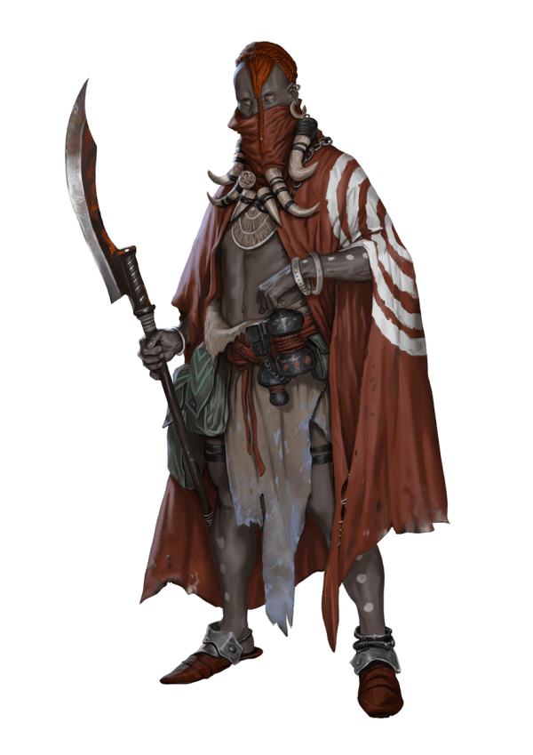 Dungeons and Dragons Character Art