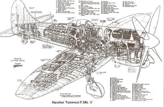 Hawker Typhoon ou Tempest :Maquetland.com:: Le monde de la
