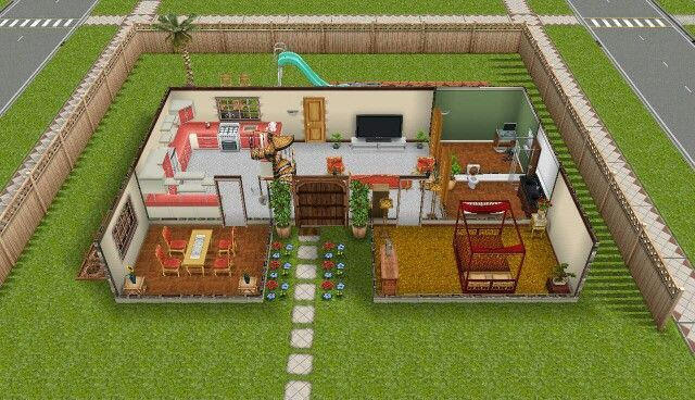 Pretty Awesome Sims Freeplay Peach Themed House Sims Freeplay