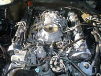 Polished valve covers and nicely sorted Bosch K-jetronic ...