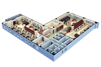 3d Floor Plan Software Free with modern office design for ...