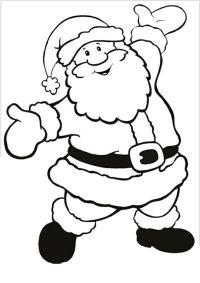 Malvorlage Weihnachtsmann Schlitten Rentieren - x13 ein