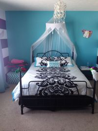 Teen girls room~just got this for my soon to be 13 year ...