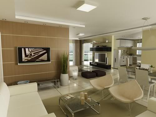 Apartamentos decorados modernos  Home design  Pinterest  Apartamentos pequenos Apartamento de praia e Decorando apartamentos pequenos