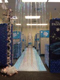 Entering Frozen :) Cubicle decorating contest | Christmas ...