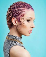 artistic hairstyles natural hair