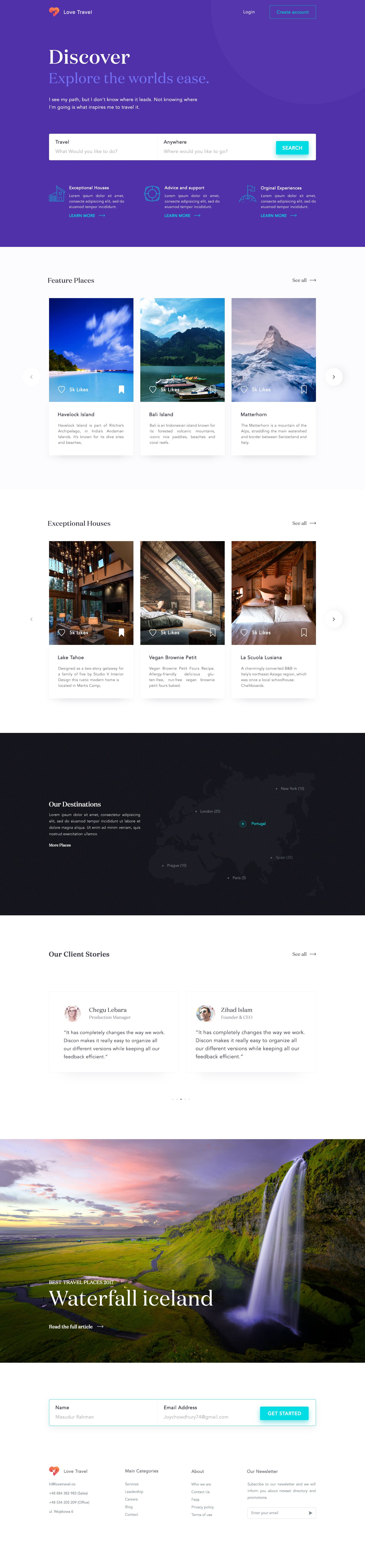 Mobile app design lets travel homepage also web pinterest inspiration rh