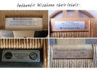 Carl Hansen & Son Wishbone chair labels   Mid-Century ...