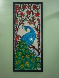 Glass Paintings Designs Of Peacock | www.pixshark.com ...