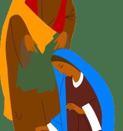 nativity jesus mary joseph transparent image nativity clipartfree  [ 673 x 1280 Pixel ]