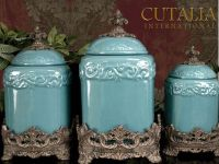 Canisters by Drake Design | Home | Pinterest | Kitchens ...