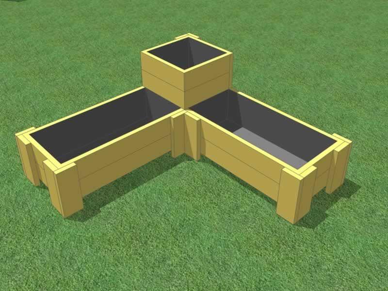 Garden Box Corners
