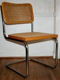 1960s Vintage Mid Century Modern Chrome & Wood Marcel ...