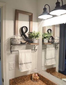 Best inspire farmhouse bathroom design and decor ideas bathroomdesign also rh pinterest