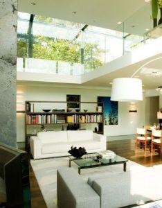 Open plan living space in contemporary home design also interior rh pinterest