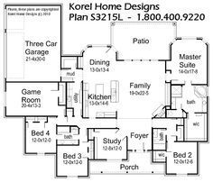 House Plans By Korel Home Designs Kids Rooms With Jack & Jill Bath