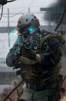 Ghost Recon Future Soldier Art
