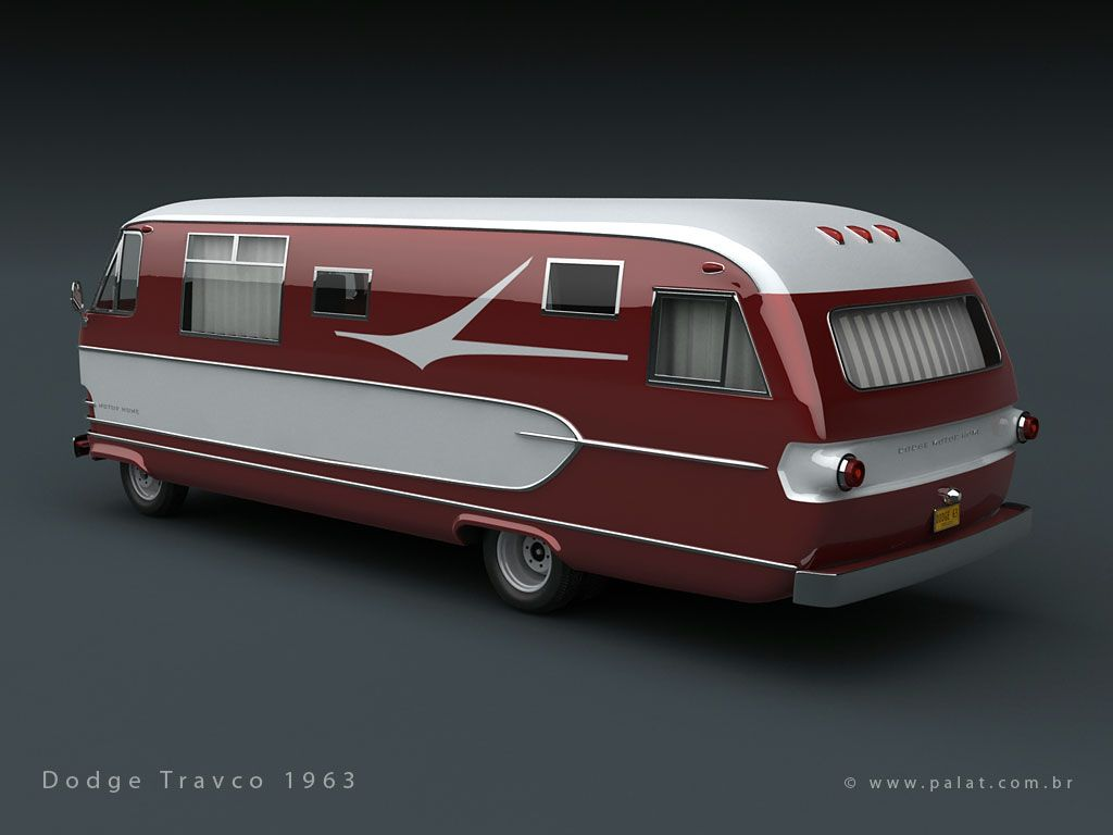 hight resolution of vintage motorhomes dodge travco 1963 motorhome dodge