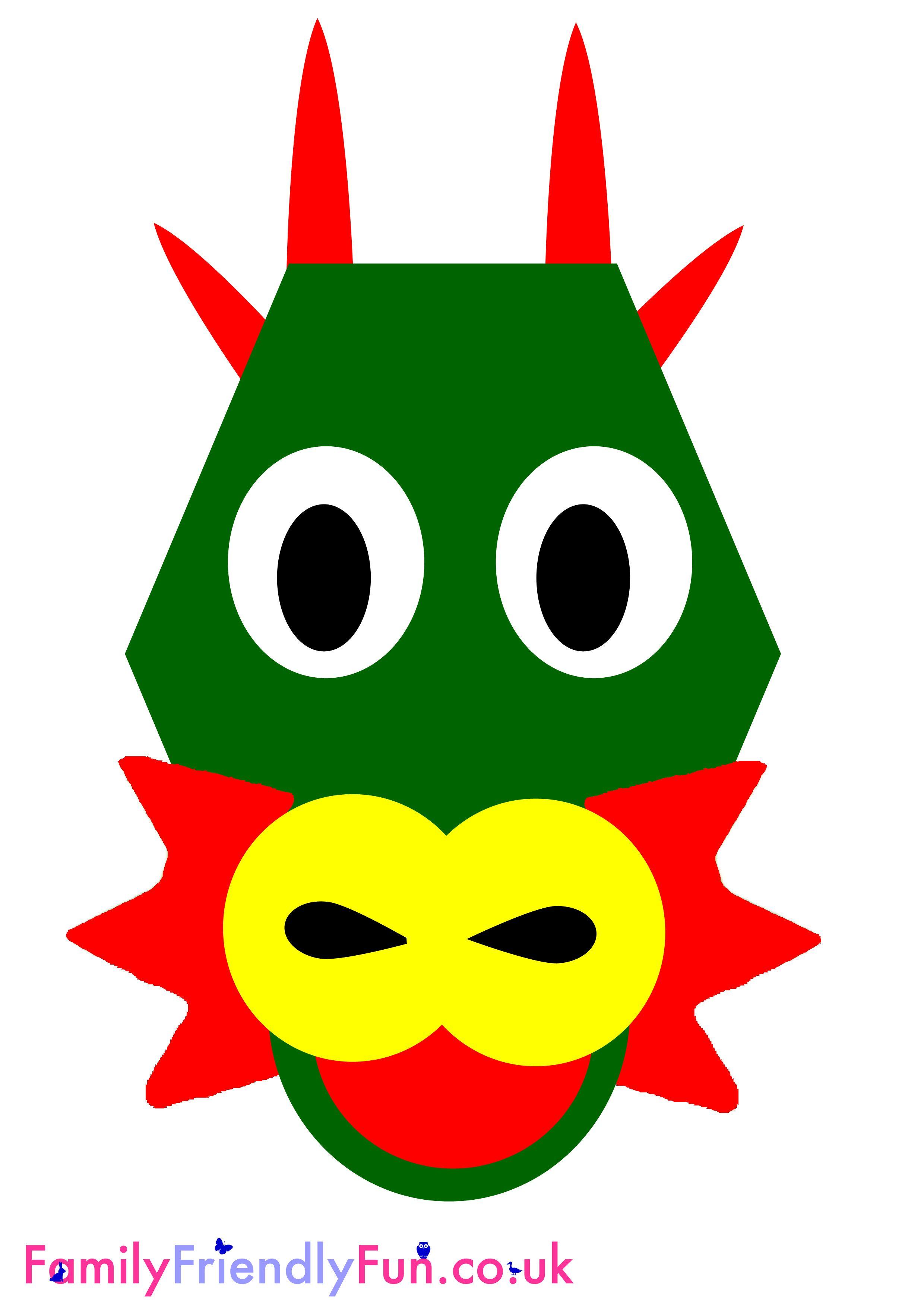 Dragon Mask For Kids