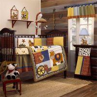 western baby bedding | Round 'Em Up Baby Crib Bedding Set ...