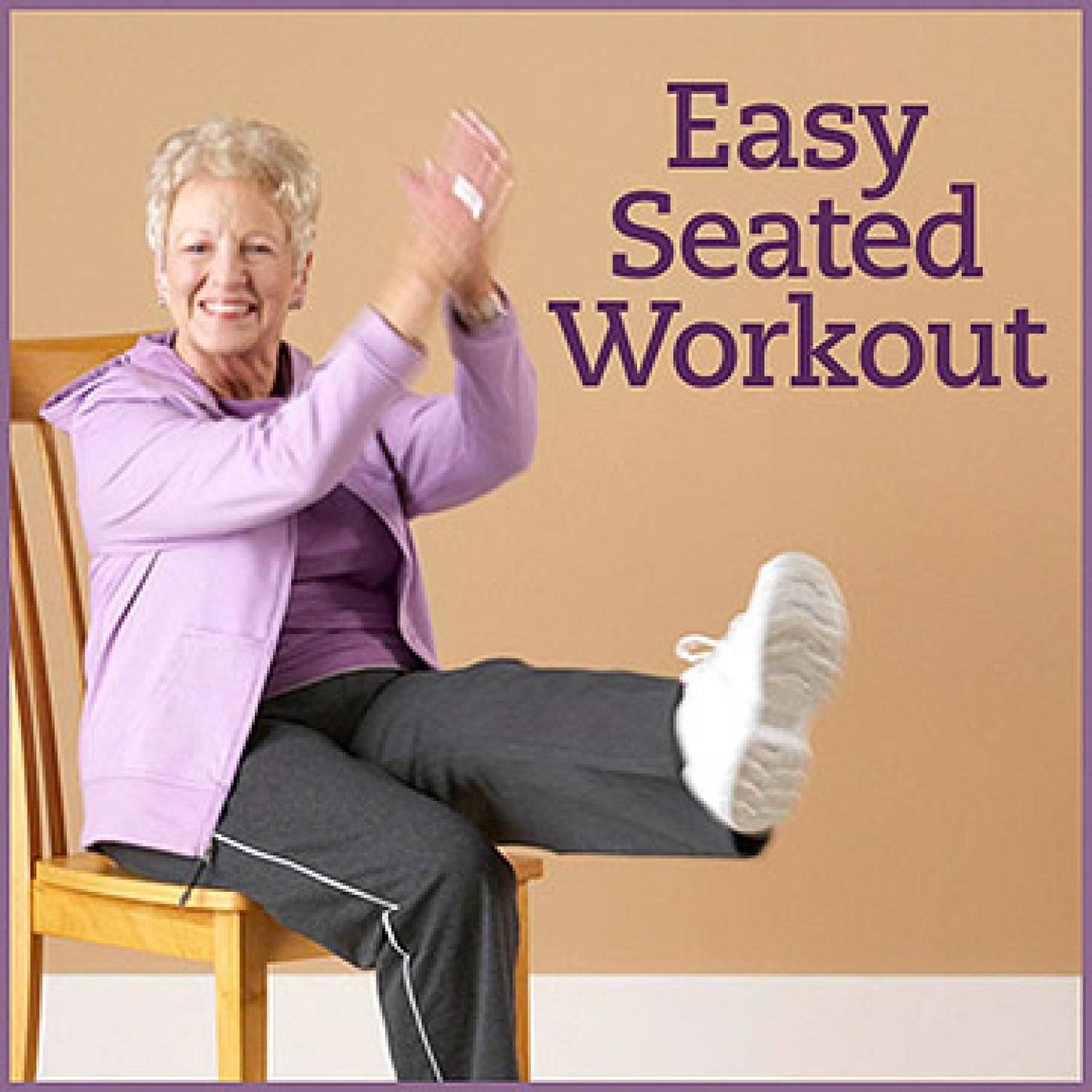 Seated Flexibility Cardio  Strength Workout  Foot pain