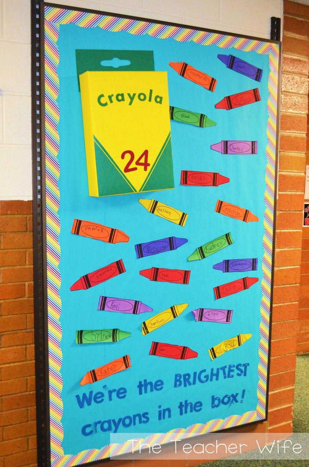 Crayon Bulletin Boards