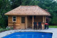 Backyard Pool Houses And Cabanas | Pool Sheds And Cabanas ...