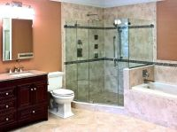 Luxury Master Bath with Kohler Shower Body Sprays | Metro ...