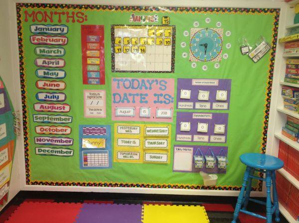 Calendar Math Boards Ideas