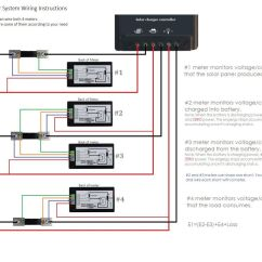Digital Energy Meter Wiring Diagram John Deere 4440 Starter Bayite Dc 6 5 100v 100a Lcd Display Current