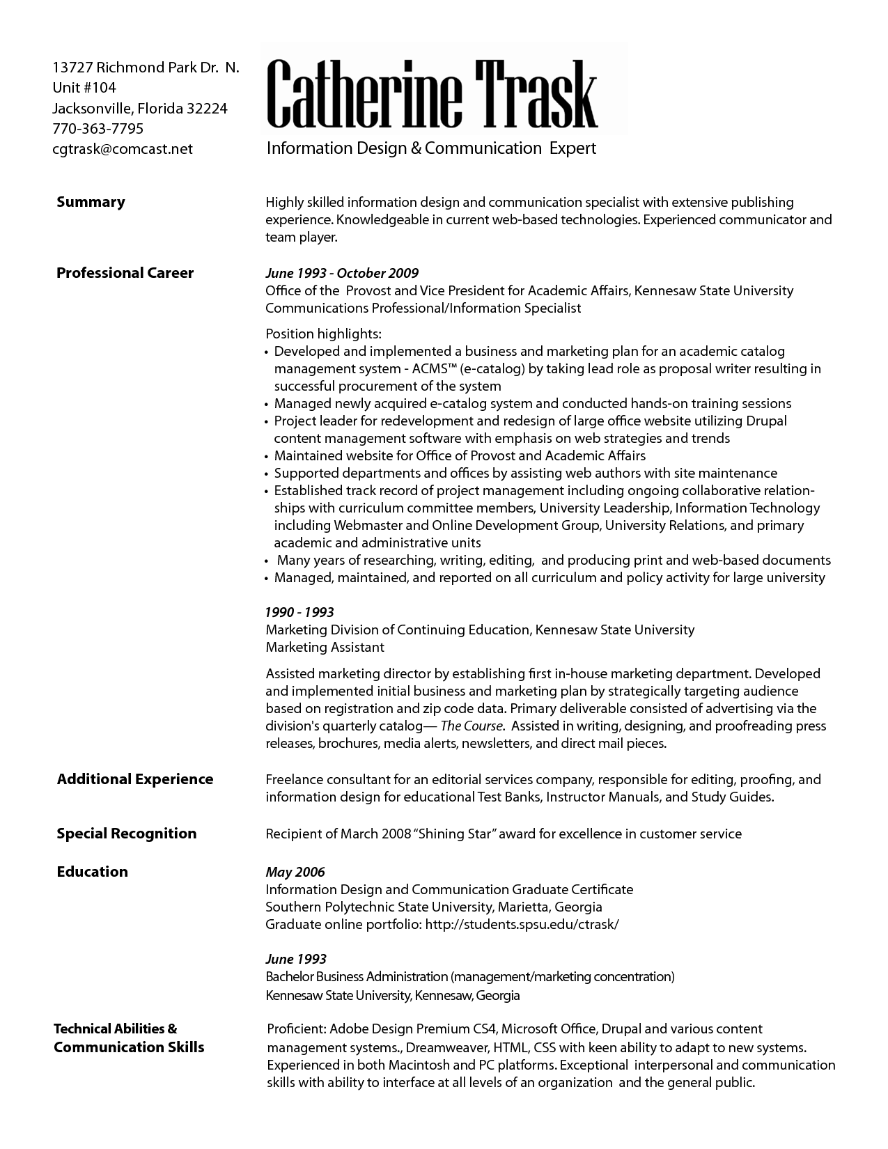Driller Resume Example Marketing Communication Specialist Resume Resumes