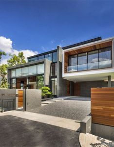 Modern homes fachadasmodernasdecasas also fachadas modernas rh in pinterest