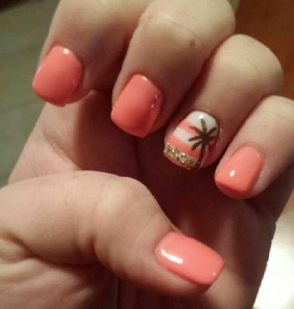 Vacation Polished Nail Bar Milwaukee And Brookfield Locations #nails #tropical