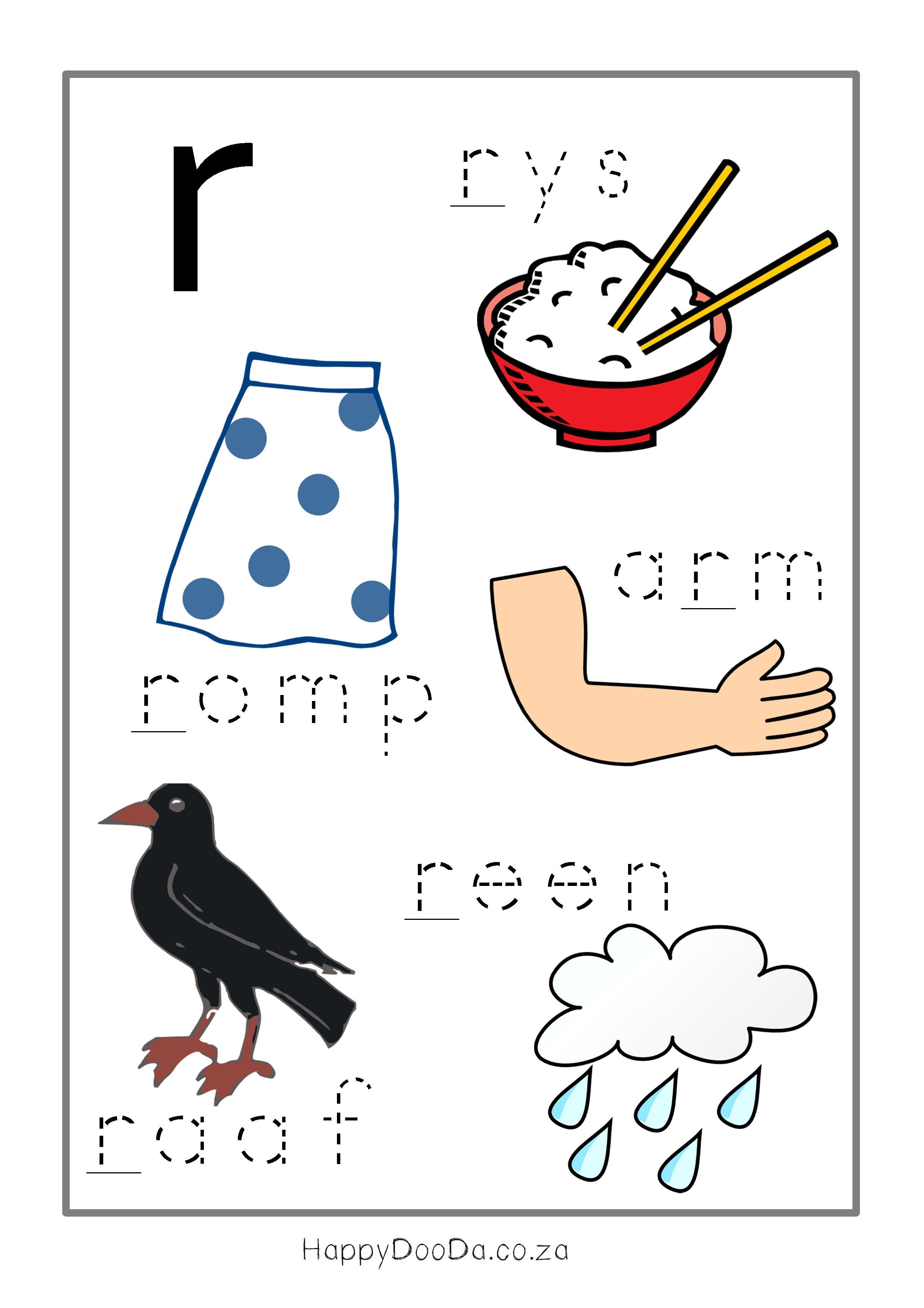 Afrikaans Worksheets Grade 2