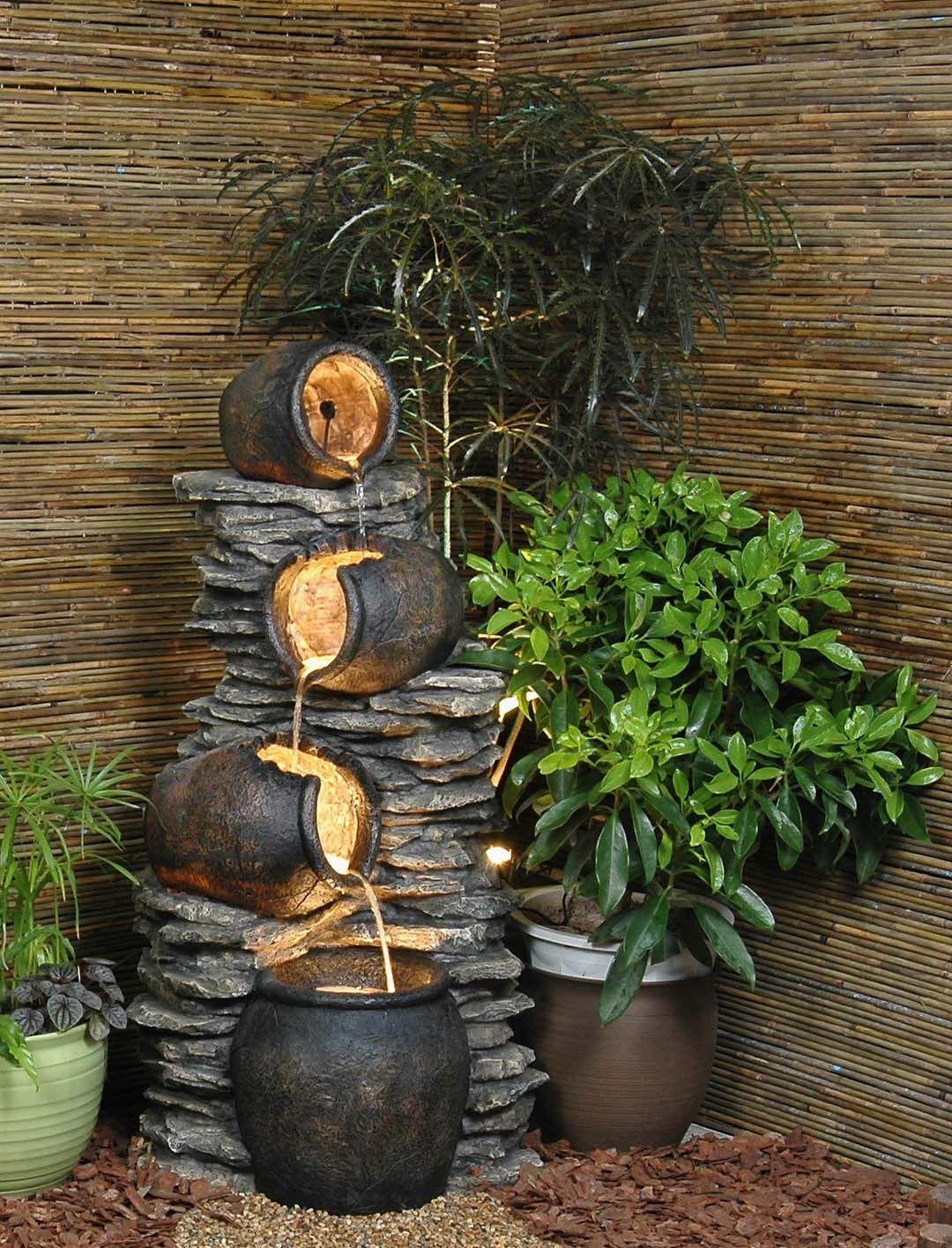 Diy Indoor Water Fountain Build Indoor Water Fountain Fountains