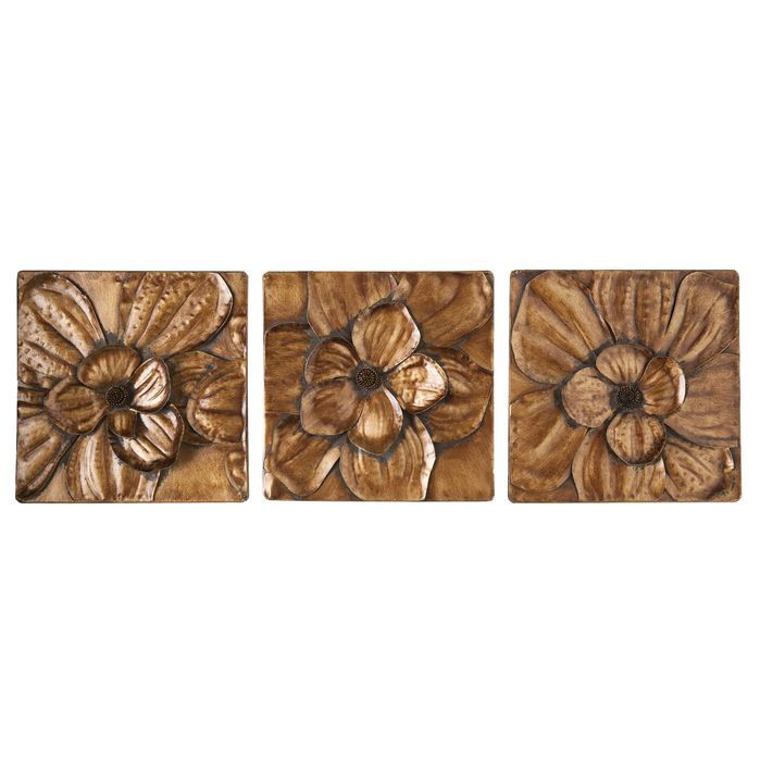 piece burton magnolia panel wall decor set also magnolias chang   rh pinterest