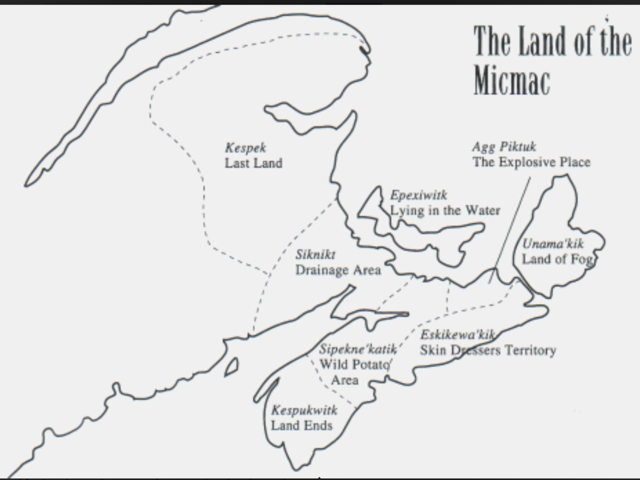Mi Kmaq Culture Danielnpaul