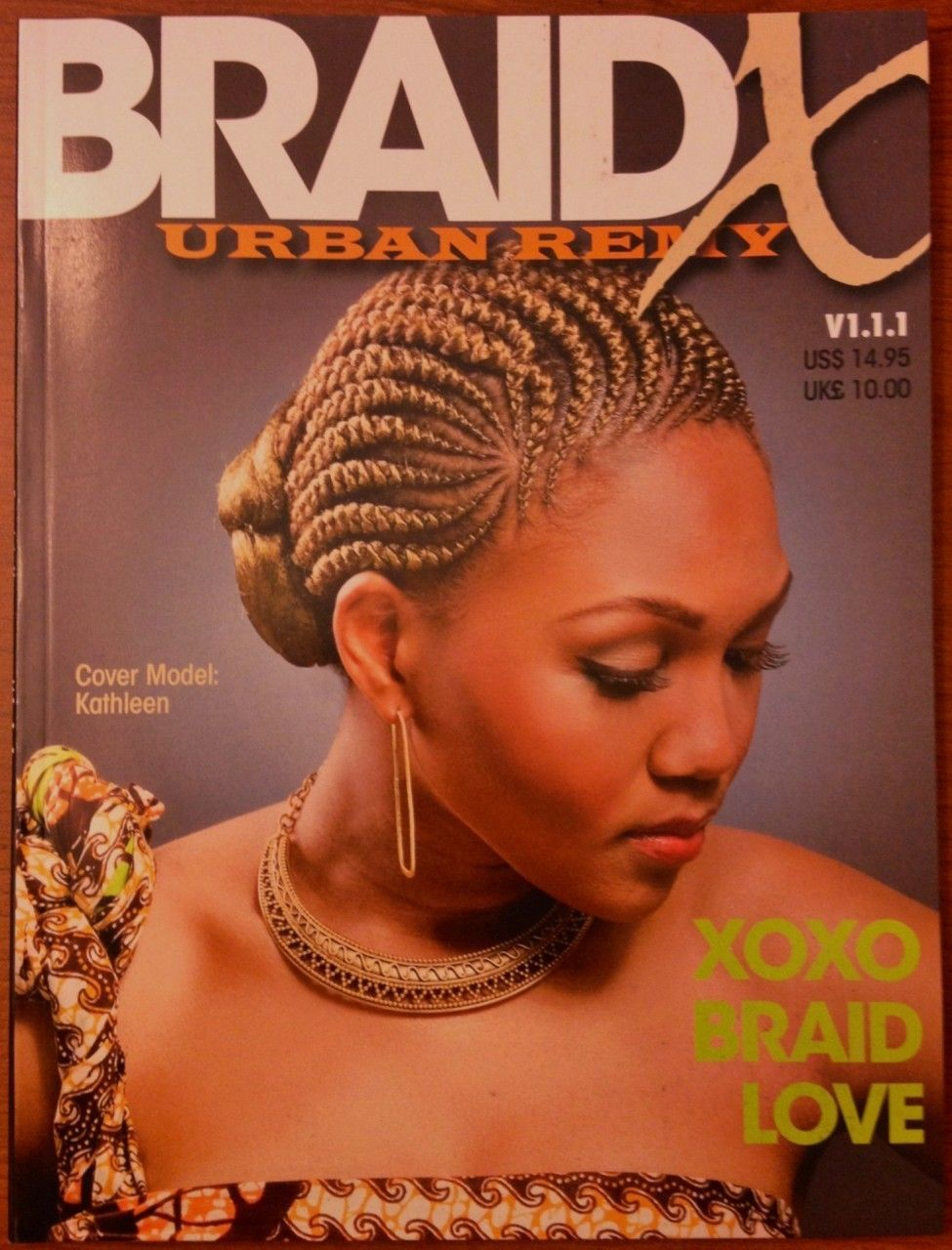 Braided Hairstyles for African Americans  African American braids natural hair style salon book