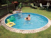 Small Round Inground Pool | small pools | Pinterest ...