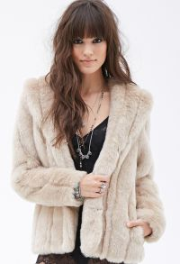 Faux Fur Shawl Collar Jacket - Jackets & Coats ...