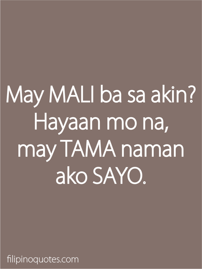 Quotes Relationships Tagalog And About Love Hugot
