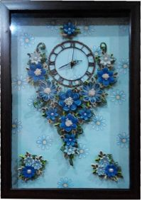 Quilled Wall Clock   Quilling Inspiration   Pinterest ...